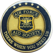 Air Force Aid Society – obverse