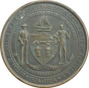 Tercentenary of the settlement of Albany, NY – obverse