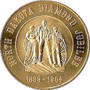 ½ Dollar - North Dakota Diamond Jubilee – obverse