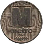 Token - Metrobus – obverse