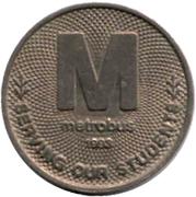 Token - Metrobus – reverse