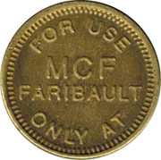 5 Cents - MCF Minnesota Correctional Facility – obverse