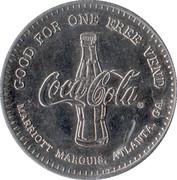 Coca-Cola Atlanta 1996 token – obverse