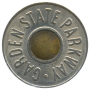 Car Fare - Garden State Parkway (OC; New Jersey) – obverse