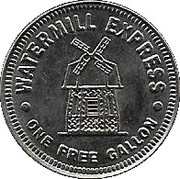 1 Gallon - Watermill Express – obverse