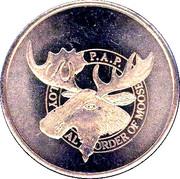 1 Drink  - Loyal Order of Moose (Fairbanks, Alaska) – obverse