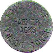 5 Cents - Food Stamp Credit Token (Farmer Jack's) – obverse