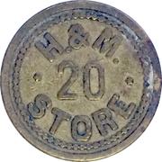 5 Cents - Hemenway & Moser (Nampa, Idaho) – obverse