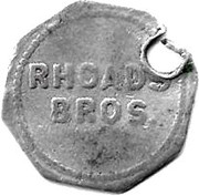 5 Cents - Rhoads Bros – obverse