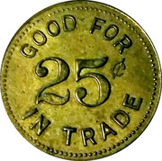 25 Cents - Joe Bathey Club – reverse
