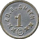 1 Dollar - Ed. E. Smith Ingle System – obverse