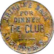 20 Cents - The Club token – obverse
