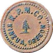 25 Cent - KPM Co – obverse