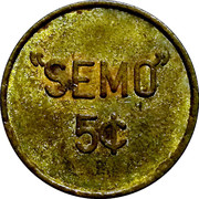 5 Cents (Semo Airbase Vietnam) – obverse