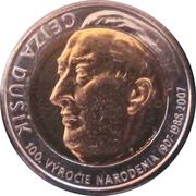Kremnica Mint Token - Gejza Dusík – reverse