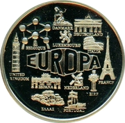 Token - Europa 2000 – obverse