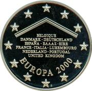 Token - Europa 2000 – reverse