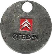Shopping Cart Token - Citroen – obverse