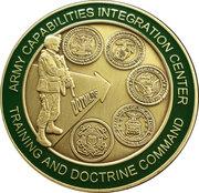 Army Capabilities Integration Center – reverse