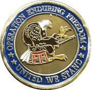 Operation Enduring Freedom – obverse