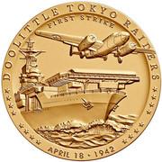 Medal - Doolittle Tokyo Raiders – obverse
