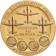 Medal - Doolittle Tokyo Raiders – reverse