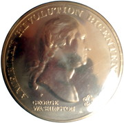 Medal - American Revolution Bicentennial (George Washington) – obverse