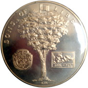 Medal - American Revolution Bicentennial (George Washington) – reverse