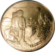 Medal - Apollo 17 – obverse