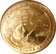Medal - Apollo 17 – reverse