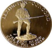 Medal - American Revolution Bicentennial (Paul Revere) – reverse