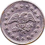 Coin Meter Token (25 mm) – reverse