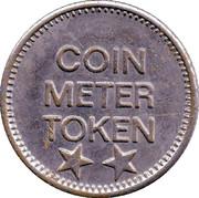 Coin Meter Token (25 mm) – obverse