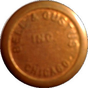 Parking Token - Bell & Gustus Inc. (Chicago) – obverse