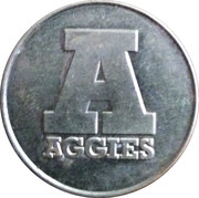 Parking Token - Aggies – reverse