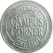 Parking Token - Campus Corner – obverse