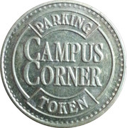 Parking Token - Campus Corner – reverse