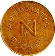 Automatic Ticket - NPW – obverse