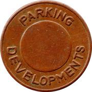 Parking Token - Parcoa Parking Developments – reverse