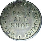 Parking Token - Park and Shop – obverse