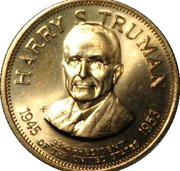 Token - Presidential Hall of Fame (Harry S. Truman) – obverse