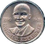 Token - Dwight Eisenhower – obverse