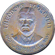 Token - Presidential Hall of Fame (Theodore Roosevelt) – obverse