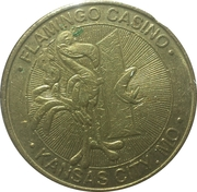 1 Dollar Gaming Token - Flamingo Casino (Kansas City) – obverse