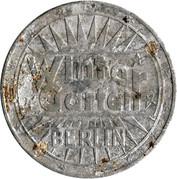 50 Jahre Wintergarten Berlin 1938 – reverse