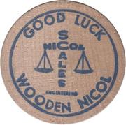 Wooden Nicol - Nicole Scales – obverse