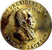 Token - Andrew Jackson (7th President) – obverse