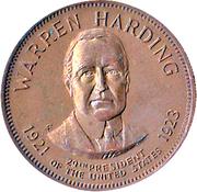 Token - Presidential Hall of Fame (Warren Harding) – obverse