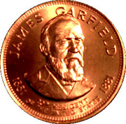 Token - Presidential Hall of Fame (James Garfield) – obverse