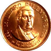 Token - Presidential Hall of Fame (Millard Fillmore) – obverse